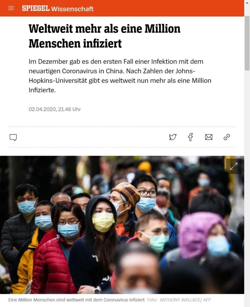 Online-Artikel, Screenshot, Bild: Gruppe von asiatisch gelesenen Personen